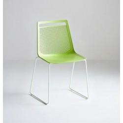 Chaise design en plastique AKAMI S.