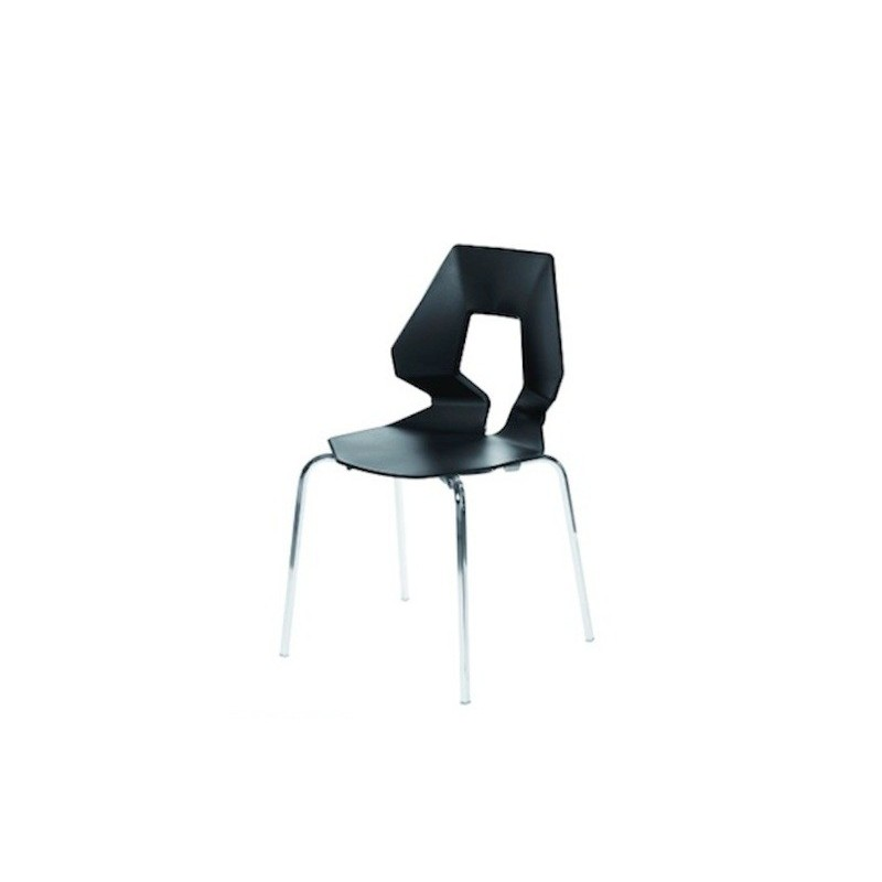 Great chaise de cuisine design prodige noir loading zoom for Table et chaises de cuisine design