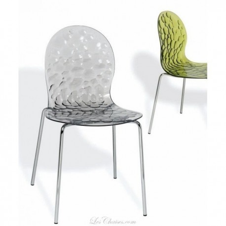 Chaise transparente BUBBLE.