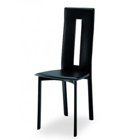 Chaise design cuir MARSEILLE par AIRNOVA.