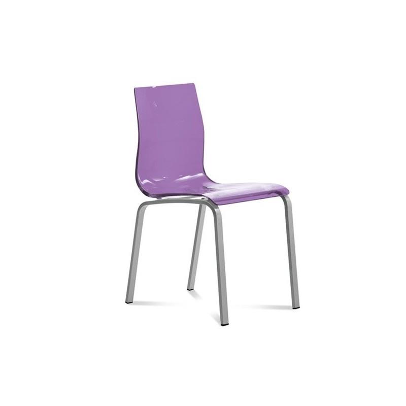 Chaise transparente design gel r par domitalia et chaises - Table et chaises design ...