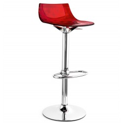 Tabouret de bar réglable ICE par Calligaris.