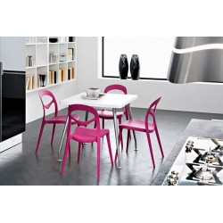 Chaise plastique design FOR YOU par Domitalia.