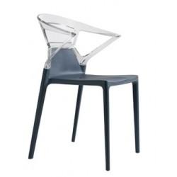 Chaise design en plastique EGO K par Papatya.