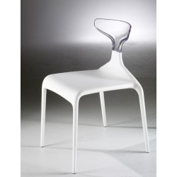 Chaise design plastique PUNK par GREEN