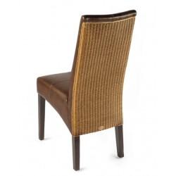 Chaise en bois et loom ANAIS