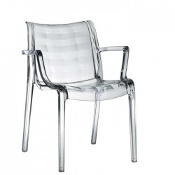 Chaise design polycarbonate Extraordinaria
