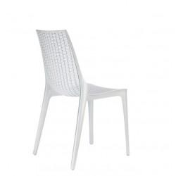 Chaise design transparente TRICOT par Scab.