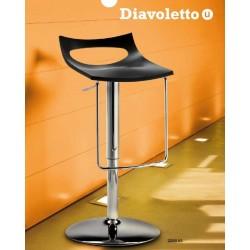 Tabouret design reglable DIAVOLETTO U.