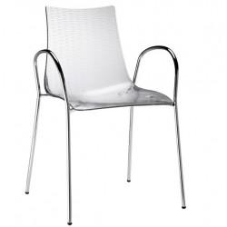 Chaise design avec accoudoirs DEA