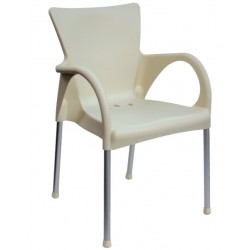 Chaise de terrasse design BEVERLY.