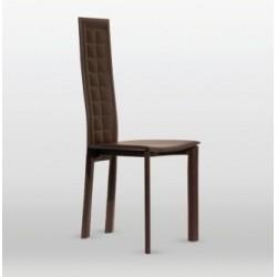 Chaise design cuir LOLA.