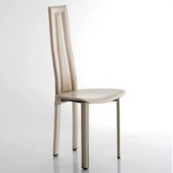 Chaise moderne cuir VEGAS.