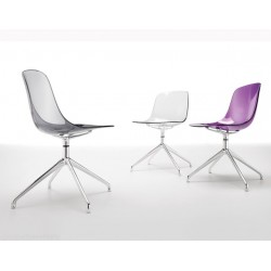Chaises design PURE LOOP SWIVEL.