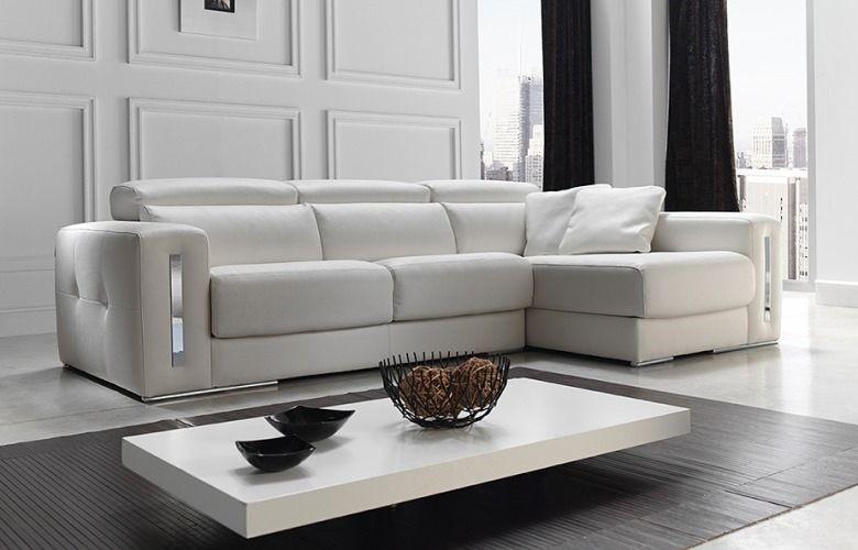 Canapé d'angle contemporain en tissu