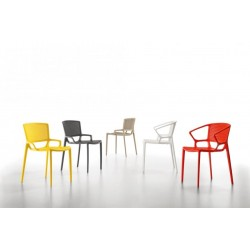 Chaises design FIORELLINA PERFORATED.