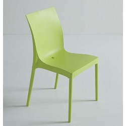 Chaise en plastique design IRIS