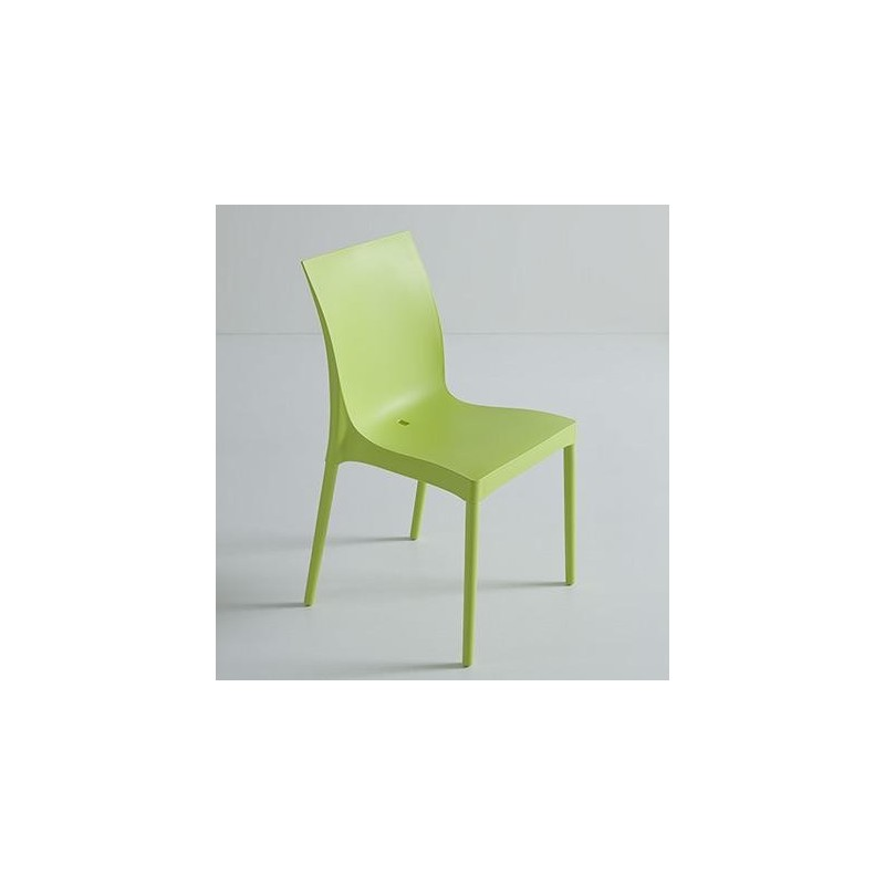 Chaise design iris et chaise plastique design par gaber for Chaise design plastique