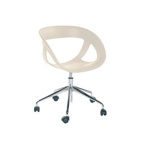 Chaise design a roulette MOEMA 5R.