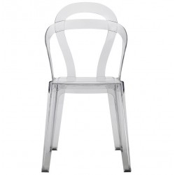 Chaises design transparente TITI