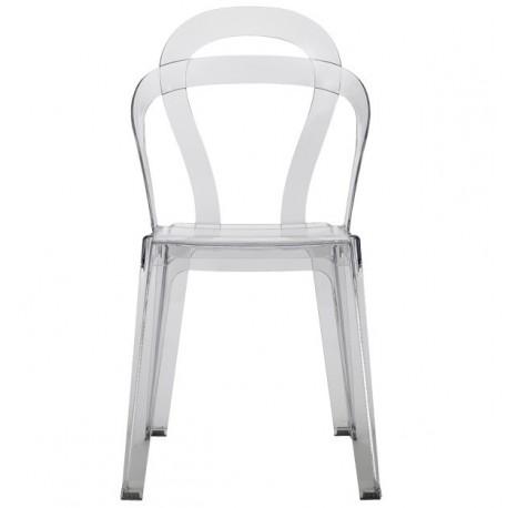 Chaises design transparente TITI