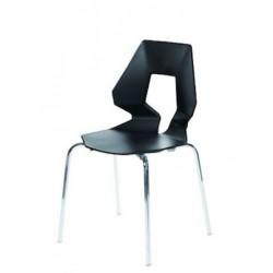 Chaise de cuisine design PRODIGE noir
