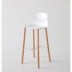 Tabouret bois design SLOT 78.