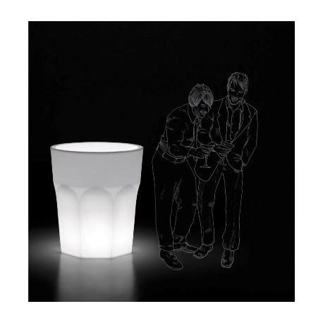 Pot lumineux design CUBALIBRE par Plust