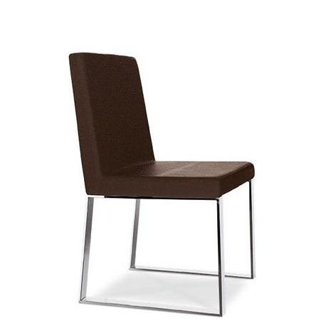 chaise cuir marron design vigo et chaise cuir design. Black Bedroom Furniture Sets. Home Design Ideas