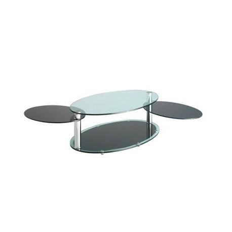 Table basse design PARIS ouverte