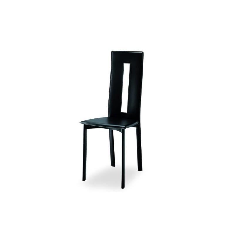Chaise design cuir marseille et vente de chaise en cuir de for Chaise en cuir design