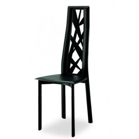 Chaise cuir PARIS.