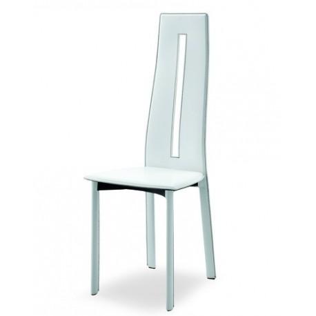 Chaise en cuir LYON design.