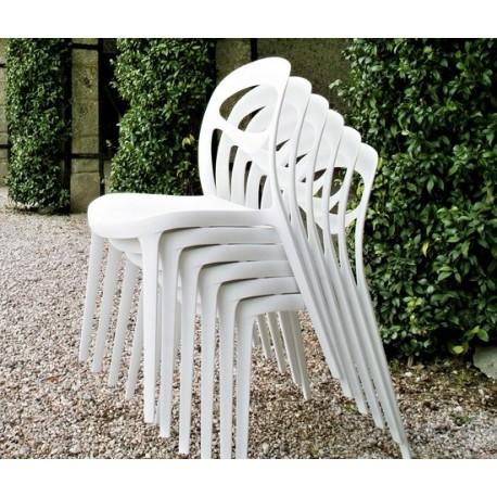 Chaise design en plastique FOR YOU empilable