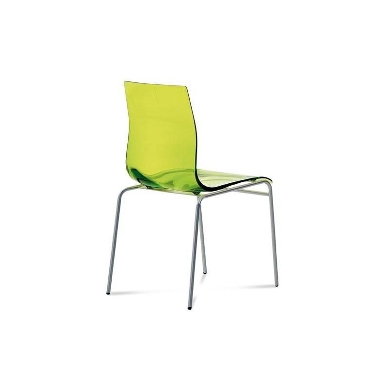 Chaise de cuisine design gel b en plastique par domitalia for Chaise de cuisine plastique