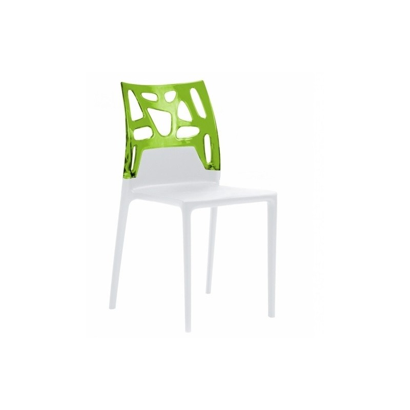 Chaise design ego rock par papatya chaises blanche - Table et chaise design ...