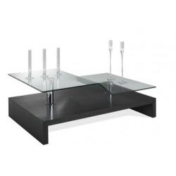 Table basse wengué contemporaine LYON