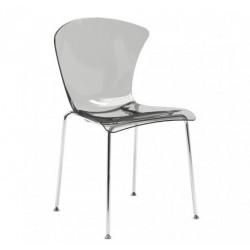 Chaise GLOSSY design en plastique