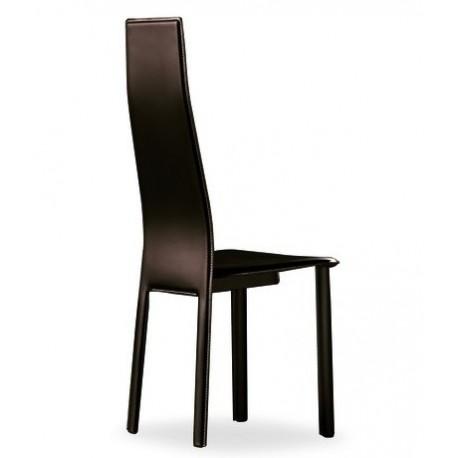Chaise cuir moderne NANTES