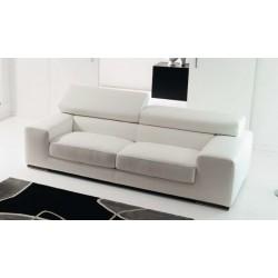 Canapé cuir design SIRIO par ROSINI