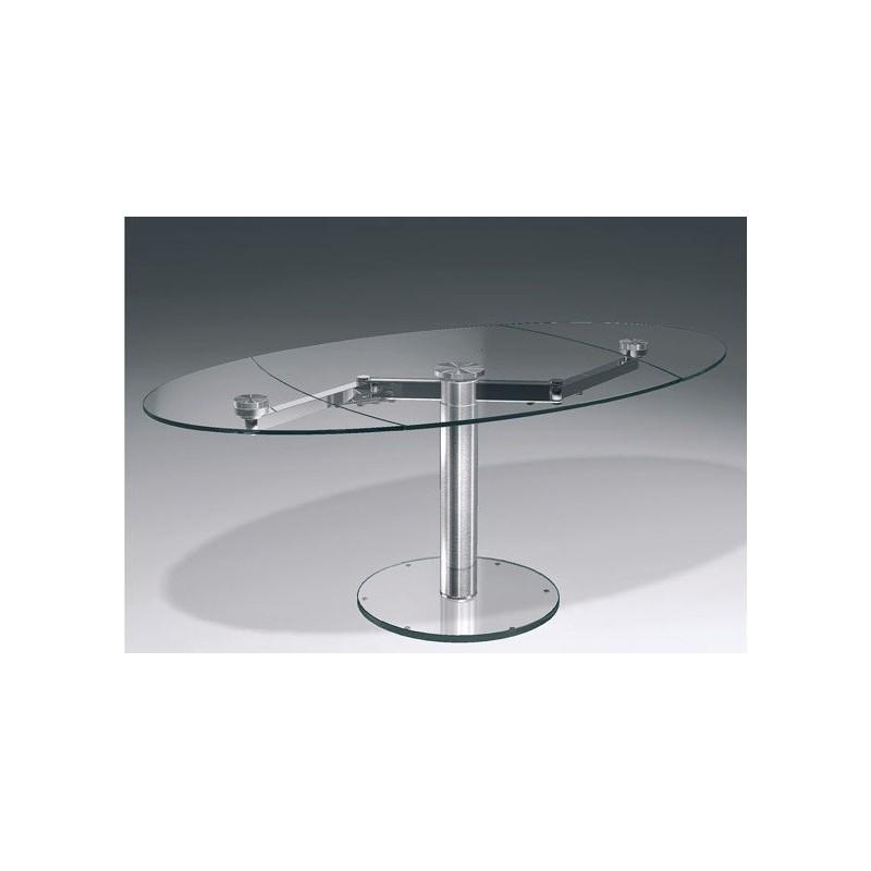 Table Design En Verre Transparent Extand Et Table Transparente Eda