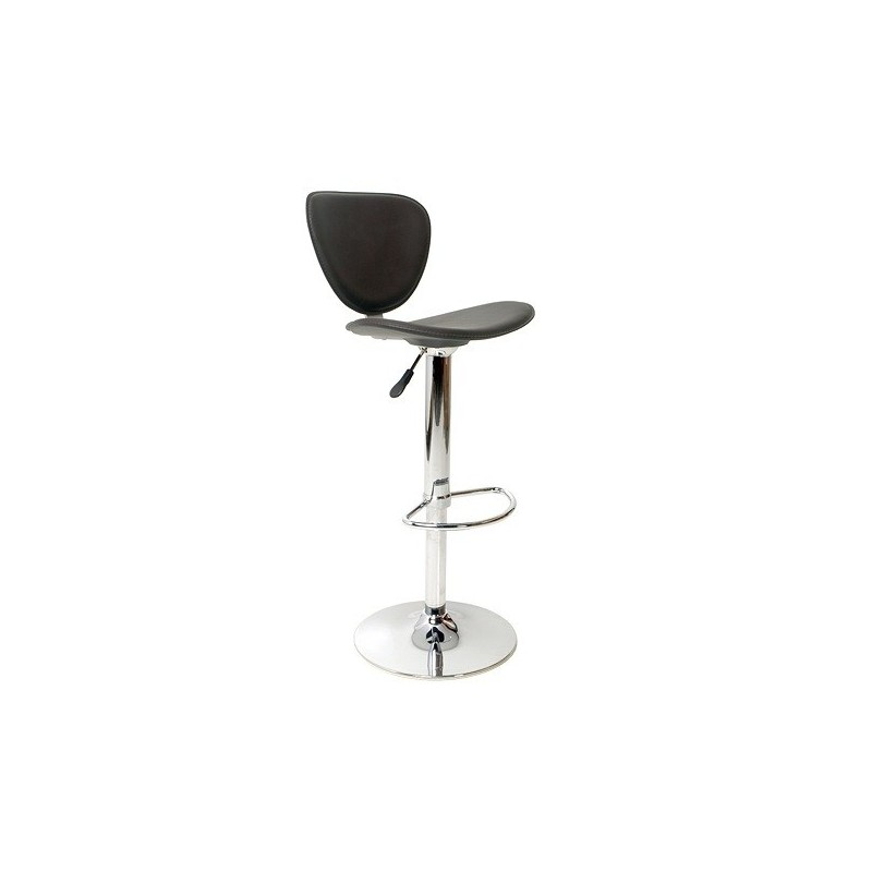 Tabouret Bar Reglable MONTPELLIER Disponible En Noir Marron Et Blanc Loading Zoom