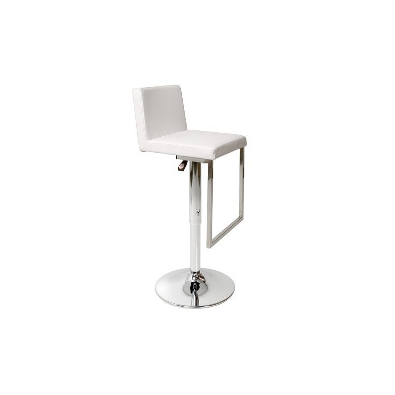 tabouret reglable en hauteur kemi et tabourets bar blanc. Black Bedroom Furniture Sets. Home Design Ideas