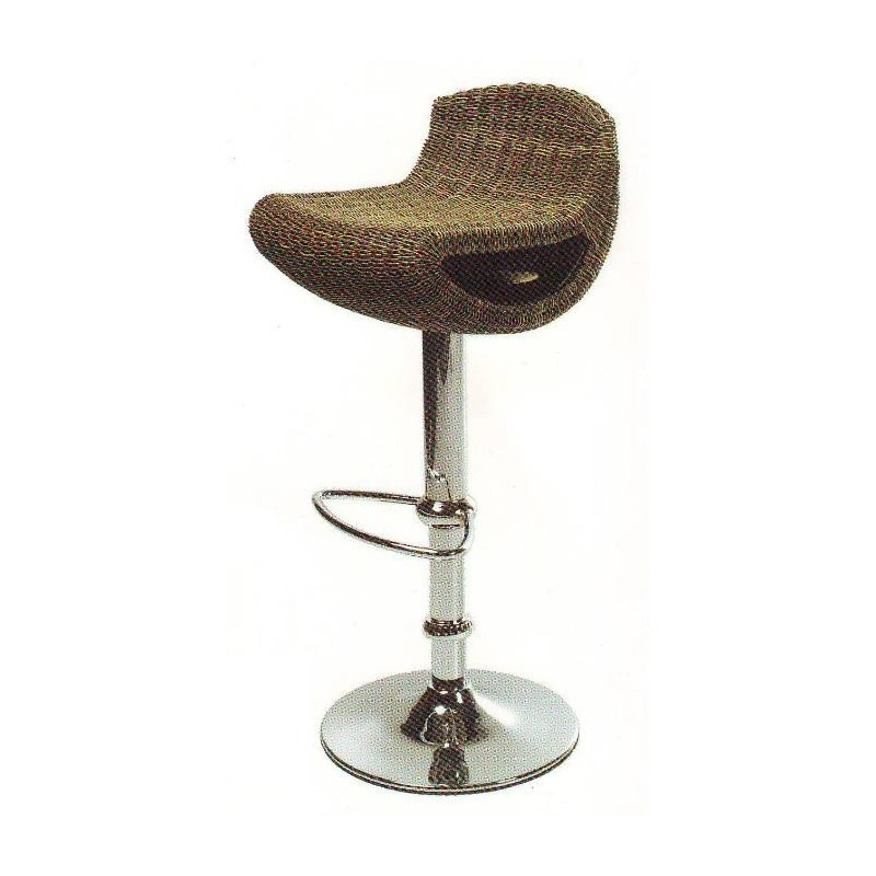 Tabouret rotin gala et tabouret de bar r glable perpignan for Table et chaise contemporaine