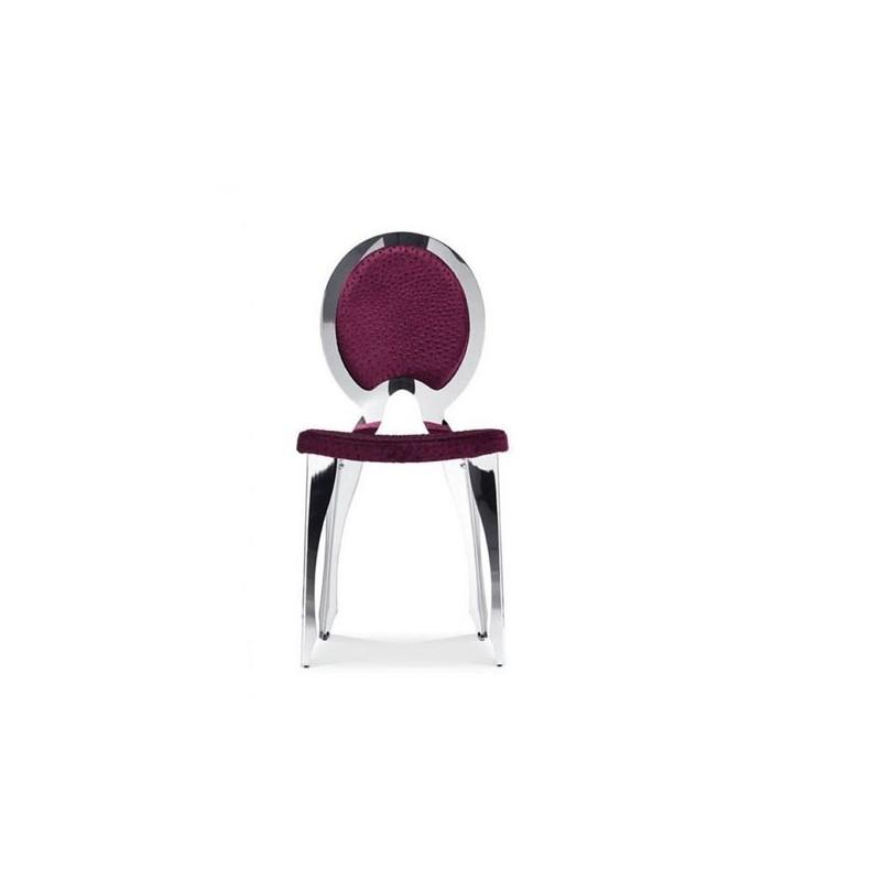 Chaise en cuir contemporaine revolution et chaises cuir for Table et chaise contemporaine