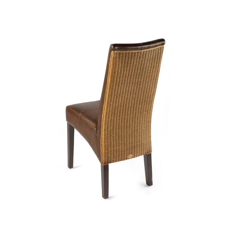 chaise en bois et loom anais et chaises en bois exotique chaises loom. Black Bedroom Furniture Sets. Home Design Ideas