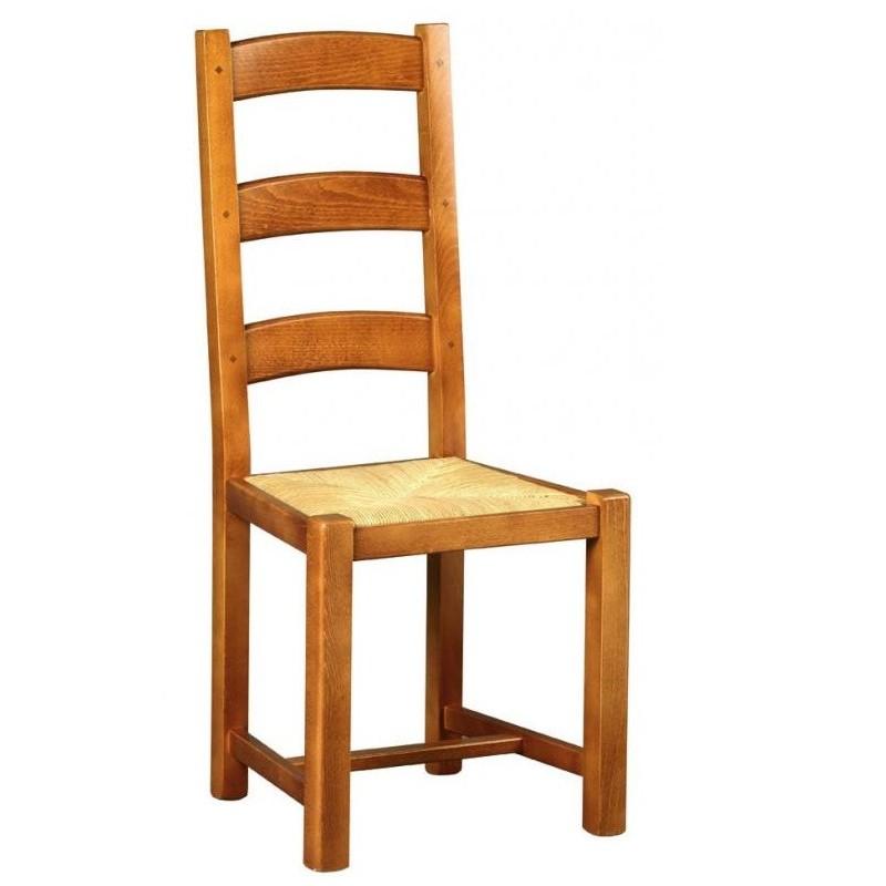 Chaise En Bois Rustique