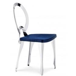 Chaise cuir design LUIGI XVI