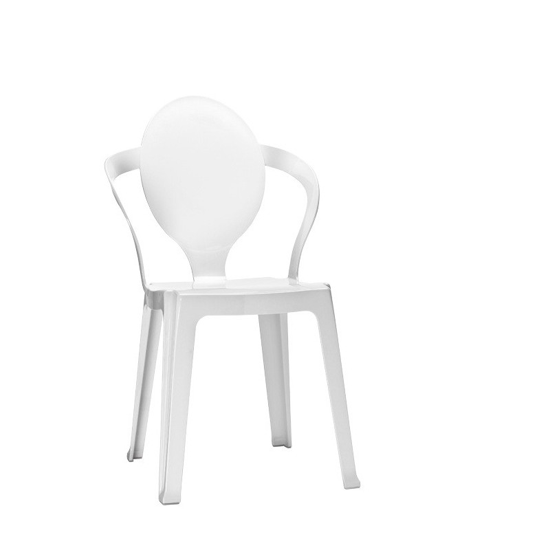 Chaise Design Transparente SPOON Loading Zoom