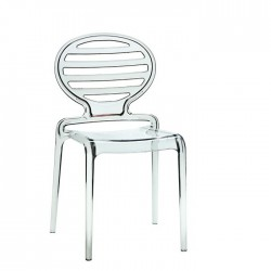 Chaise transparente COKKA